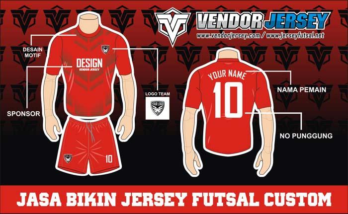 Buat Jersey Bola Kaos Futsal di Wilayah Tangerang