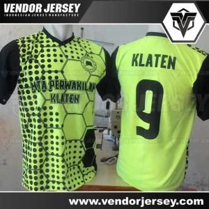 Bikin Baju Futsal Printing Bahan Wafer / Waffle