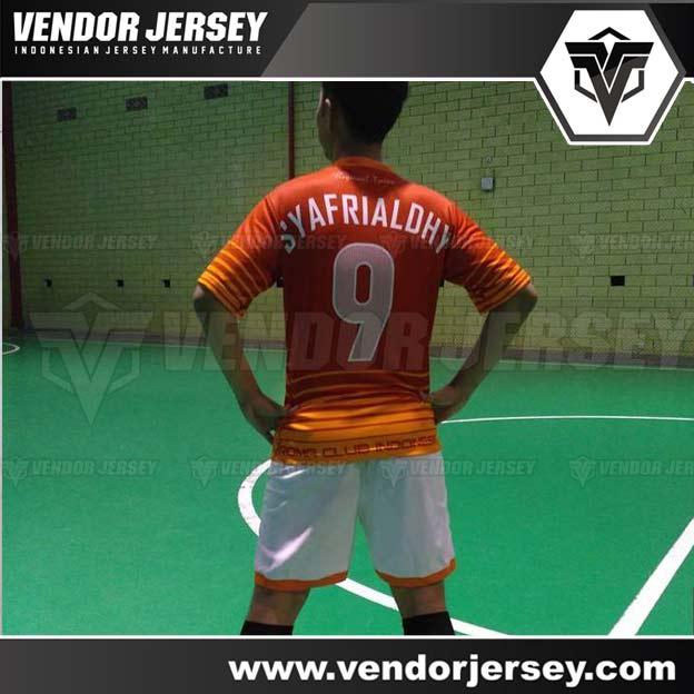 Pembuatan Kostum Futsal Full Printing Untuk Komunitas Bola