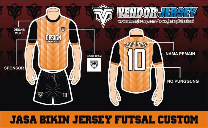 Pembuatan Jersey Baju Futsal di Sulawesi