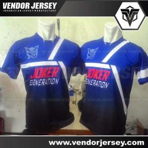 Pembuatan Kostum Futsal Tim Jonas FC Dengan Full Printing