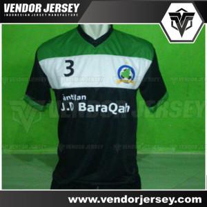 Pembuatan Baju Tim Bola Futsal Borneo FC Kalimantan