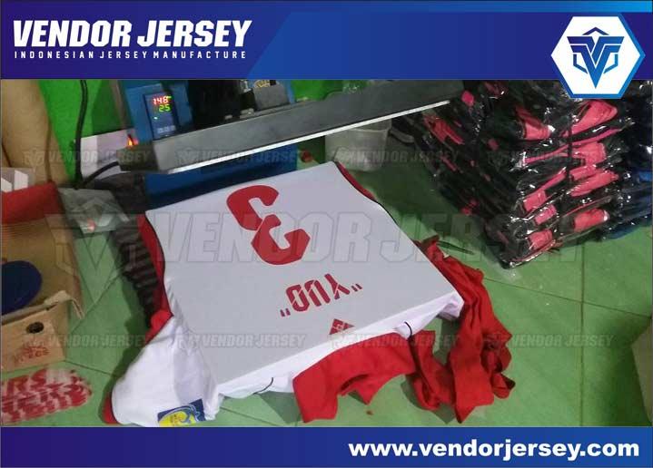 Sablon Polyflex untuk Jersey