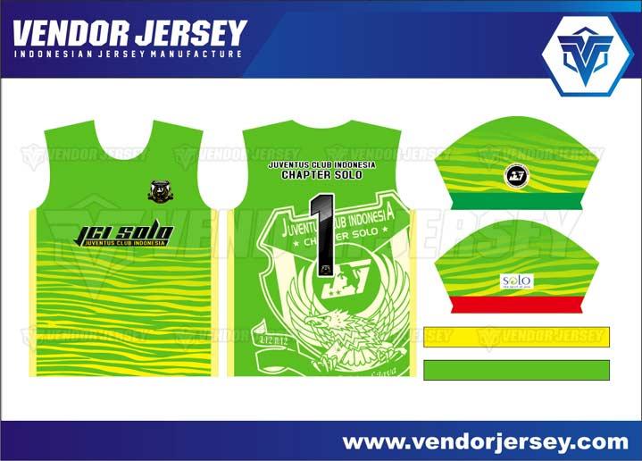desain Kaos Futsal Print Depan Belakang
