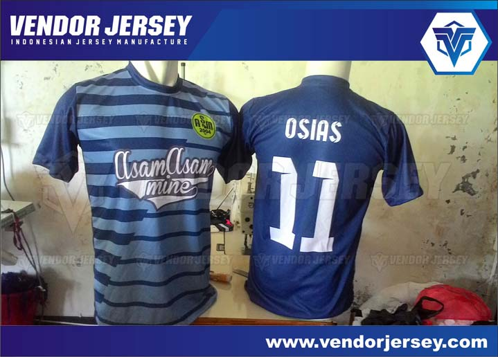 bikin Seragam baju baju Futsal Depan Belakang