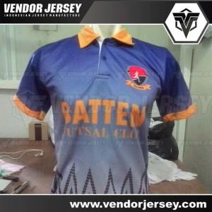 Pembuatan Kaos Futsal Printing Berkerah