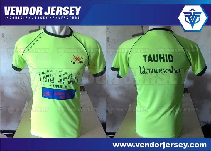 TEMPAT Pembuatan Baju Olahraga Badminton