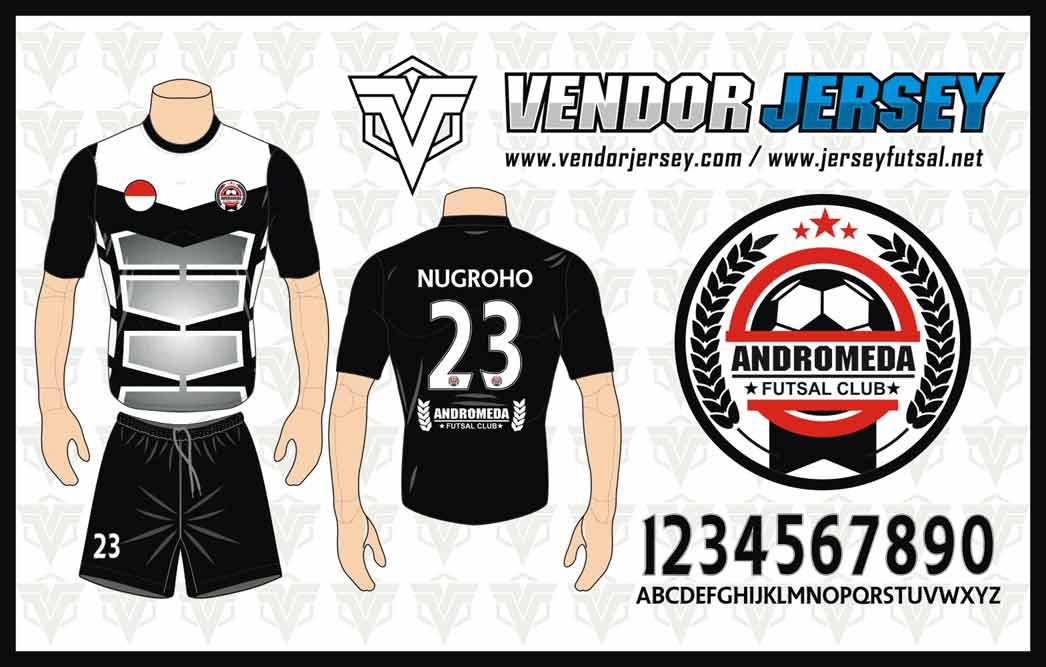 Desain Kaos Futsal Gradasi