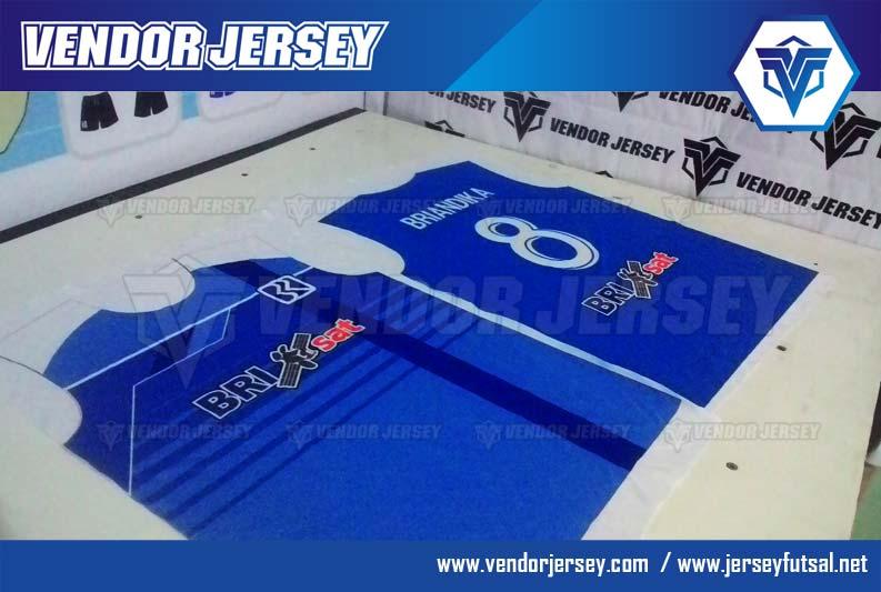 Pembuatan Baju Seragam Futsal BRI Sat