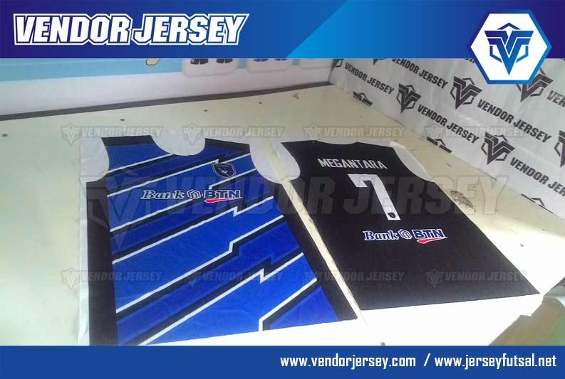 Pembuatan jersey Olahraga Futsal Bank BTN