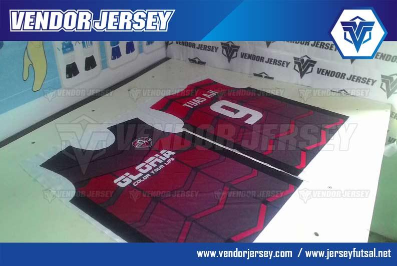 Produksi pembuatan kostum futsal