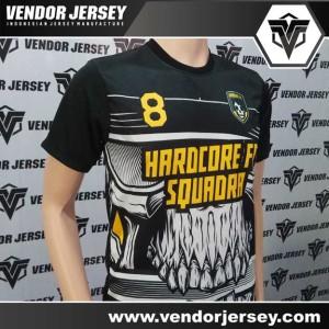 Bikin Jersey Seragam Futsal Gambar Motif Tengkorak