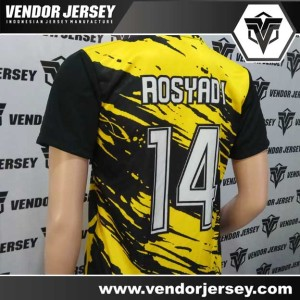 Pembuatan Kostum Futsal Tim Panthers FS