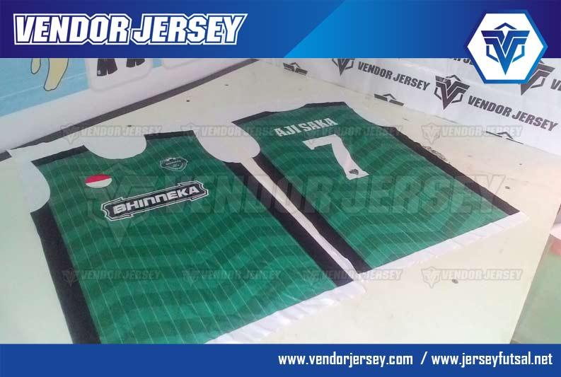 buat Baju Bola Futsal Bhinneka FC Dari Jakarta