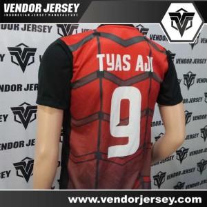 Pembuatan Kostum Futsal Tim Maestro Motif Digital Printing