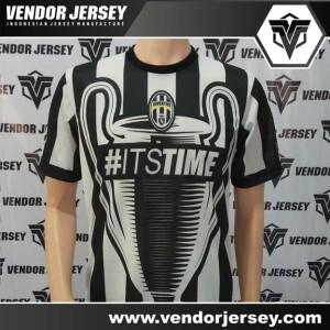 Proses Bikin / Buat Jersey Bola Juventus Fantasi UCL