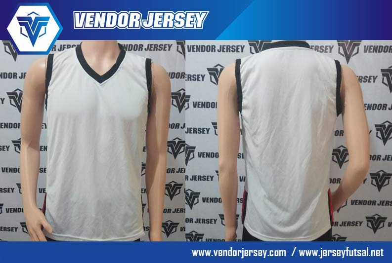 Bikin Baju Jersey Polos Tanpa Lengan