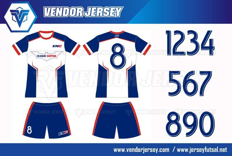 Desain Jersey Futsal Perusahaan