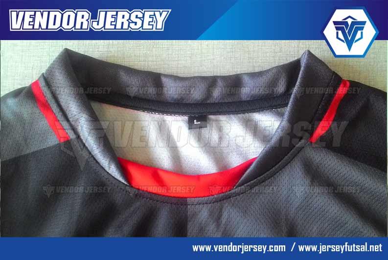 Lubang Leher jersey futsal Bentuk O neck Variasi