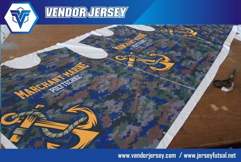 Pembuatan Baju Olahraga Printing Sekolah Pelayaran Kelautan