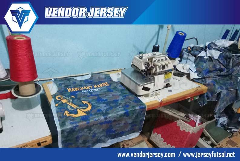 Pembuatan Baju Olahraga Printing