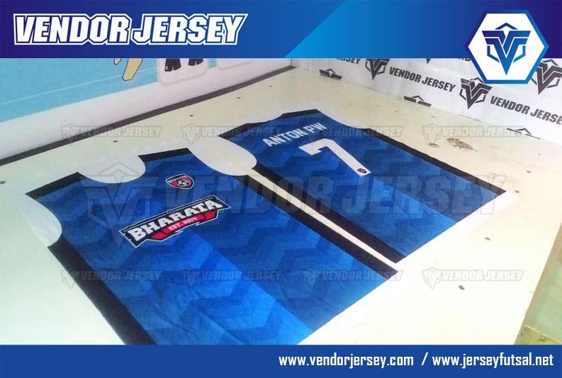 Pembuatan Kaos Futsal Dengan Kombinasi Warna