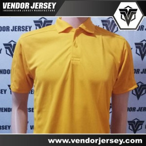 Pembuatan Kaos Jersey Olahraga Polos Berkerah