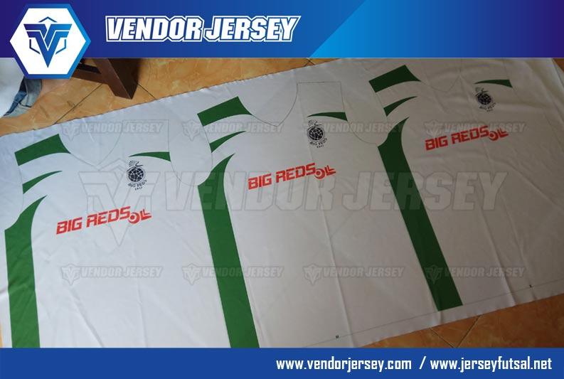 Proses Pembuatan Jersey Bola Futsal
