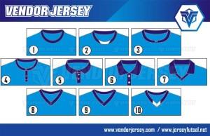Jenis-Jenis Desain Kaos Futsal Berkerah