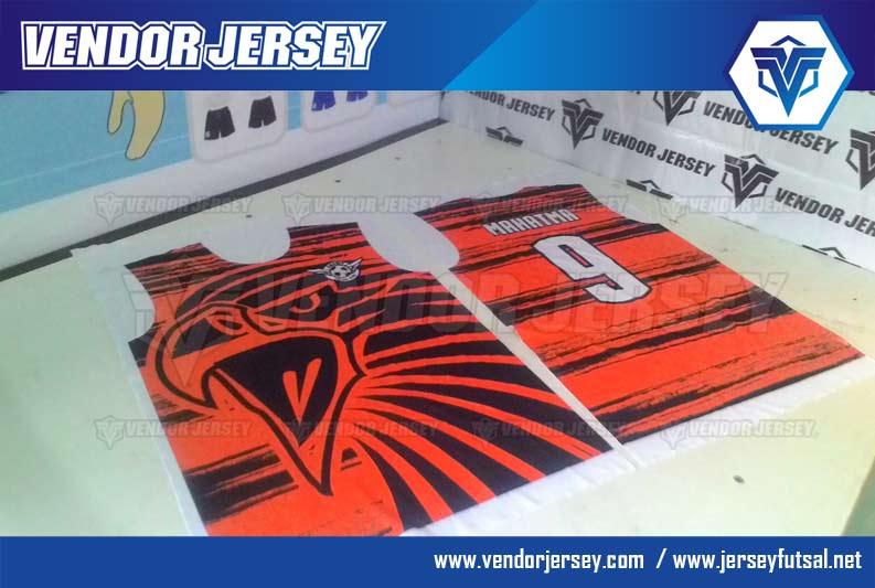 bikin Jersey Sepakbola Futsal Dengan Gambar Burung
