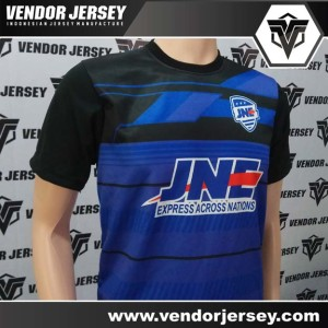 Pesanan Pembuatan Baju Olahraga Futsal JNE