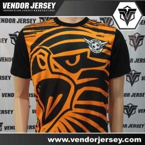 Bikin Jersey Sepakbola / Futsal Dengan Gambar Burung