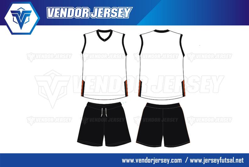 desain Baju Jersey Polos Tanpa Lengan