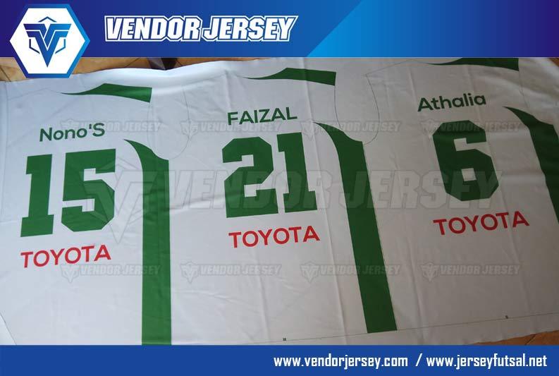 pesan Jersey Bola Futsal
