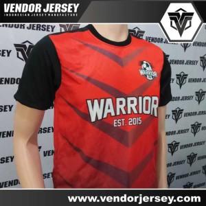 Pesanan Pembuatan Seragam Tim Futsal Warrior