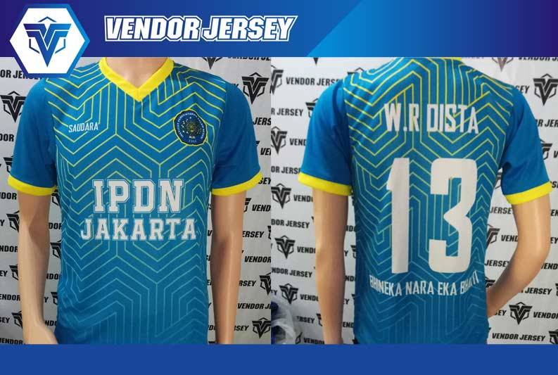 Bikin Baju Futsal IPDN Jakarta printing