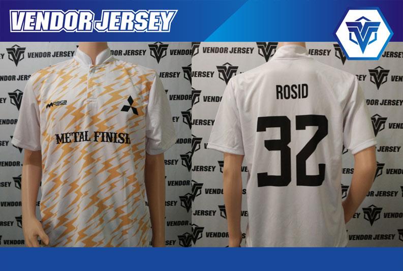 Bikin Jersey Futsal Karyawan Mitsubishi