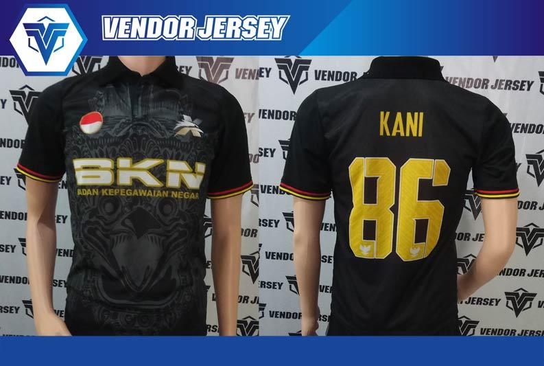 Bikin Kaos Futsal BKN Denpasar Bali printing