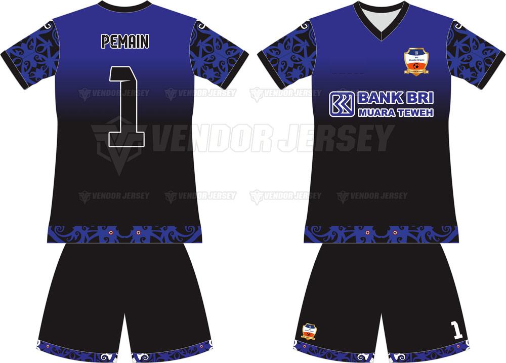 Buat Kostum Futsal Dari Muara Taweh Gambar Gradasi Warna