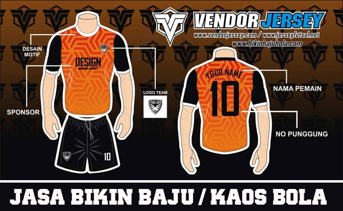Desain Kaos Futsal Depan Belakang
