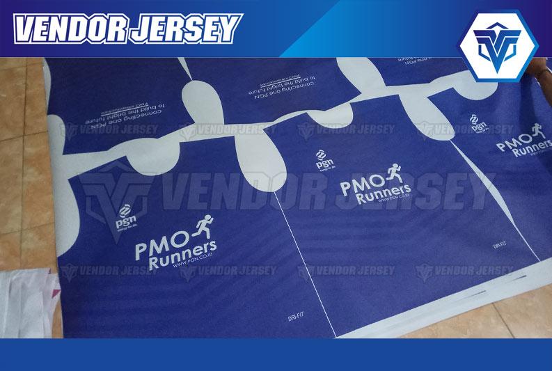 JASA Pembuatan Baju Lari Full Printing
