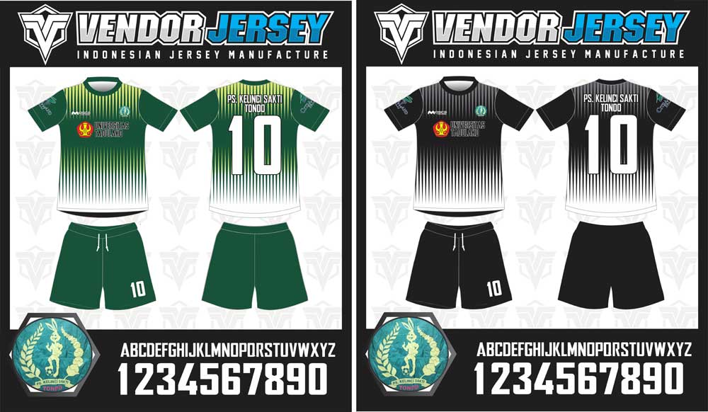 Pembuatan Baju Futsal Pesanan Dari Universitas Tadulako Palu Sulawesi Tengah