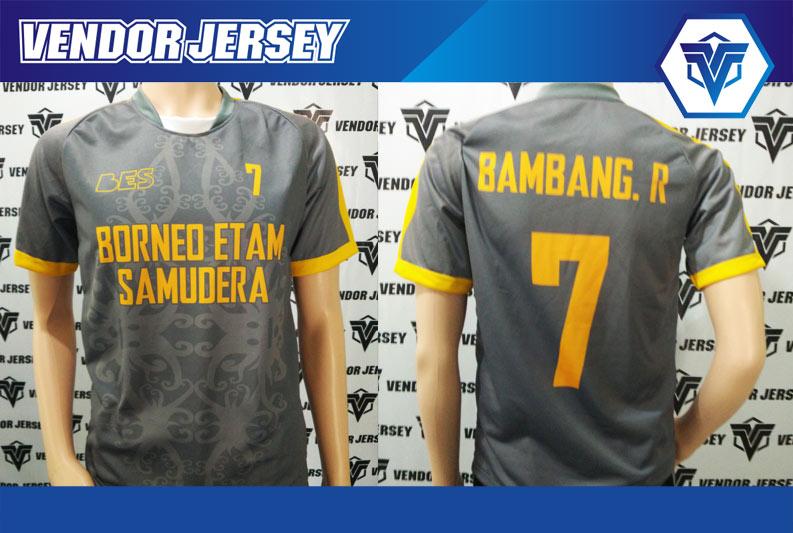 Pembuatan Baju Futsal printing Borneo Etam Samudera Pesanan Dari Kalimantan