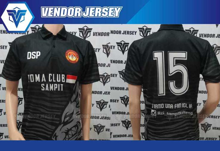 Pembuatan baju Futsal Romanisti Printing