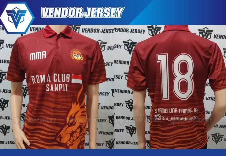 Pembuatan jersey Futsal Romanisti Printing