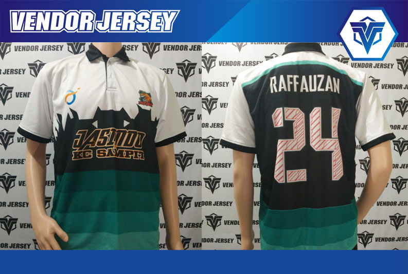 Produksi Bikin Jersey Jasindo Futsal Sampit Kalimantan
