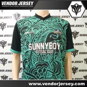 Produksi Bikin Jersey Sunny Boy Futsal Motif Batik