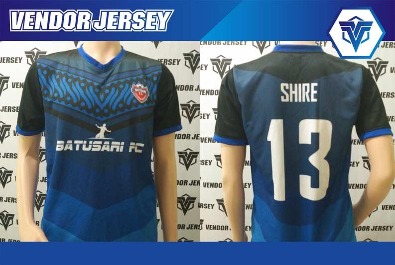 Produksi Buat Jersey Futsal Motif Batik Di Dada