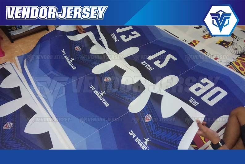 Produksi Buat Jersey Futsal printing Batik
