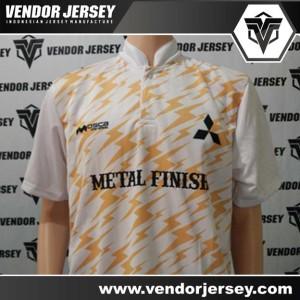 Bikin Jersey Futsal Karyawan Mitsubishi Dengan Kerah Shanghai
